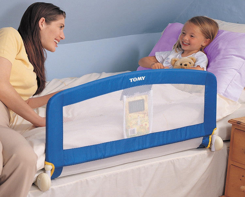TOMY Universal Bed Rail Blue Amazoncouk Baby