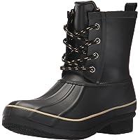Chooka Womens Classic Memory Foam Rain Duck Black Size: 6