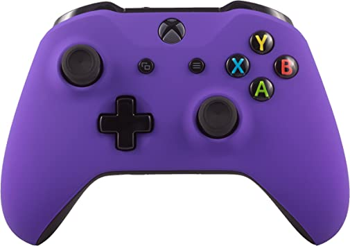 Microsoft Controlador inalámbrico Bluetooth Xbox One S para Xbox Una Costumbre Soft Touch Púrpura: Amazon.es: Electrónica