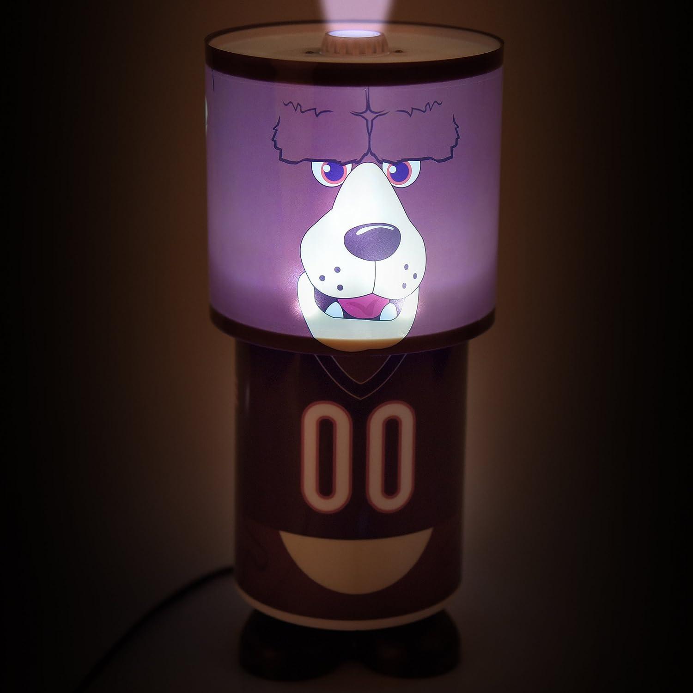 Amazon.com: NFL Chicago Bears Unisex Mascot lámpara de mesa ...