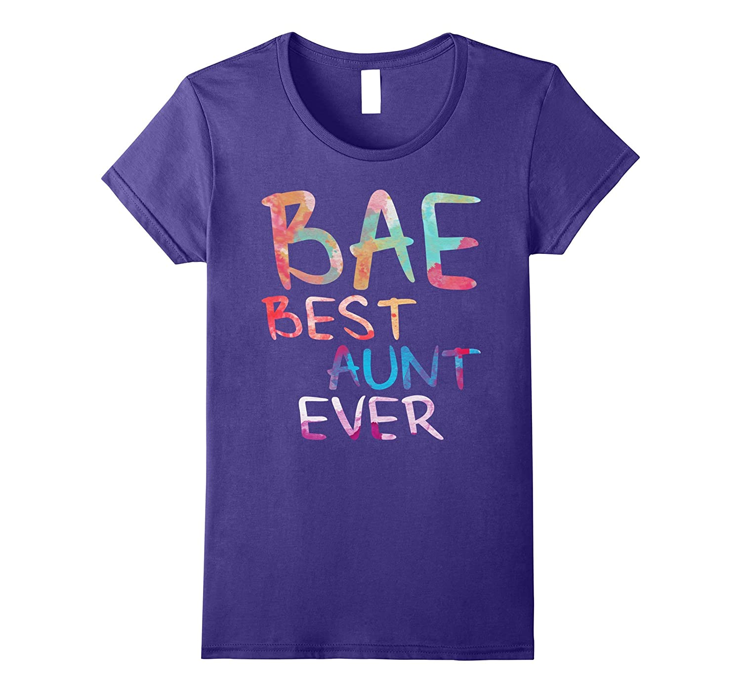 57a37242 Womens BAE Best Aunt Ever T-Shirt Funny Auntie Gift Shirt-ANZ ...