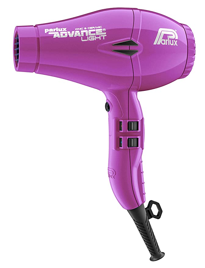 Parlux Advance Light - Secador de pelo ionico, Lila: Amazon.es: Salud y cuidado personal