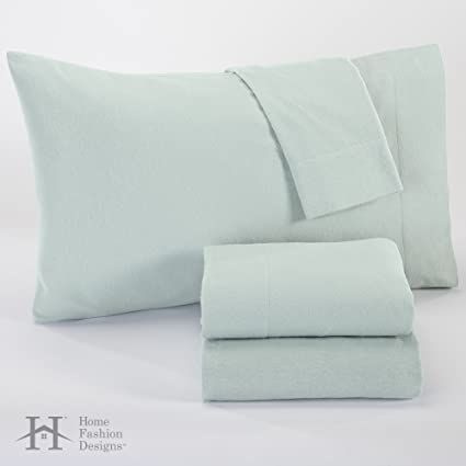 Home Fashion Designs Nordic Collection Extra Soft 100% Cotton Flannel Sheet  Set. Warm,