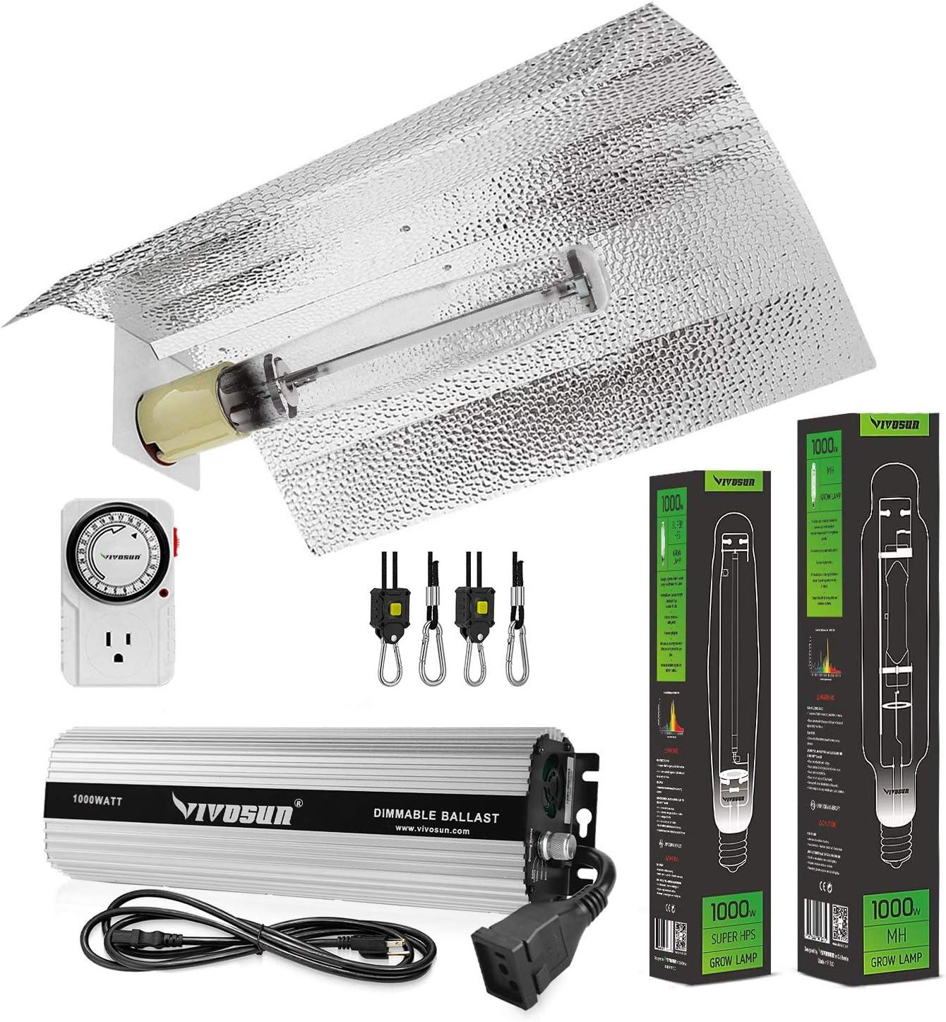 Sunlight Supply HPS MH Socket for HID Lighting 1000 watt Grow Light Room Tent