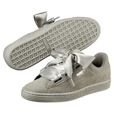 online store 89d17 a40a9 Puma Women's Suede Heart Pebble WN's Sneakers