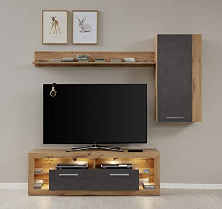 trendteam smart living Cultivo Pared Matera absetzung Wotan Roble ...