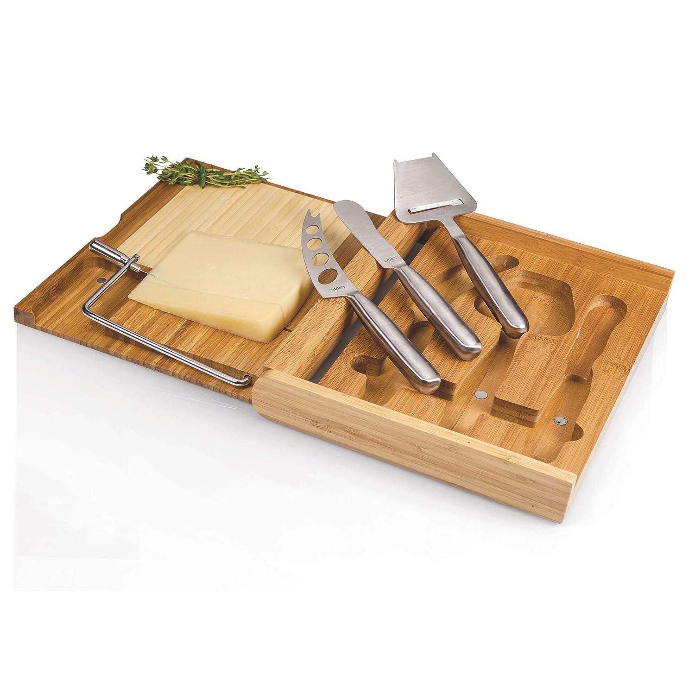 Amazon Picnic Time Soiree Cheese Board Tool Set Wine