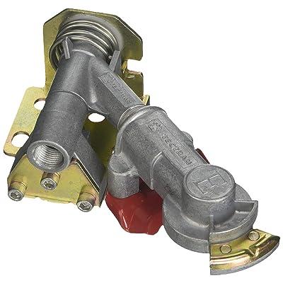 "Tectran 9222 Bracket Mount Aluminum Swivel Gladhand (, Emergency Swivel Mount - 45 Degrees, Aluminum, Unplugged Port A (3/8""), Plugged Port B (3/8""): Automotive"