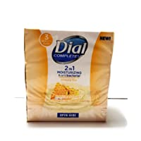 Dial Complete 2in1 Moisturizing & Antibacterial Beauty Bar, Manuka Honey, 3 Bars