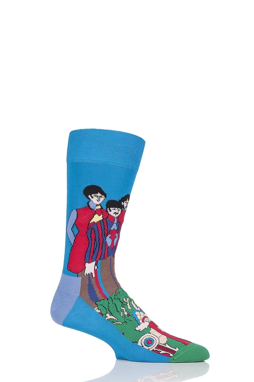 Happy Socks I Beatles Pepperland Calzini, Blu/multi Blu/multi Unica Taglia