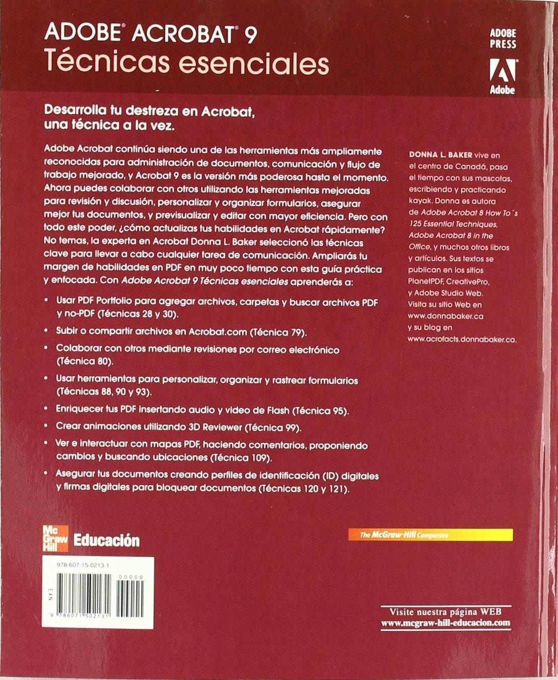 Adobe Illustrator Cs4 Tecnicas Esenciales: Amazon.es: Baker Donna: Libros