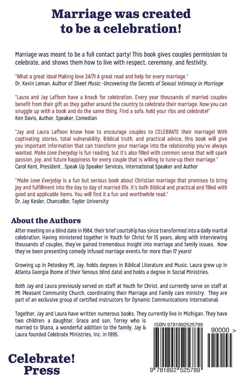 Make Love Everyday: Jay Laffoon: 9781892525789: Amazon.com: Books