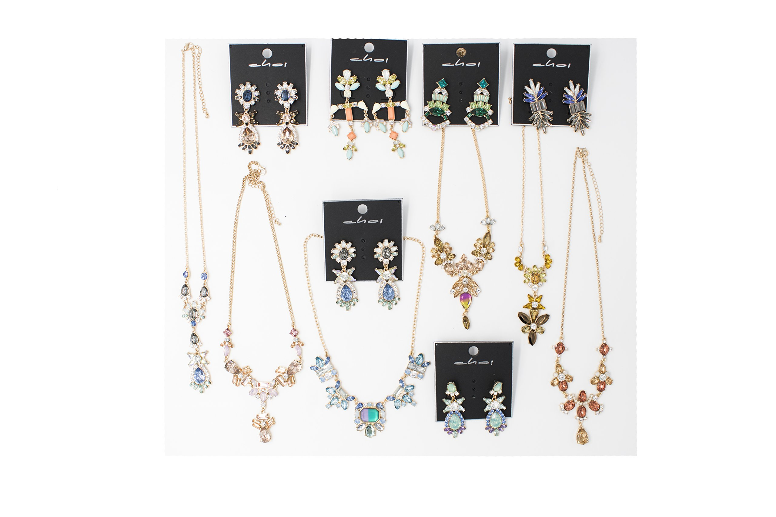 Fashion Jewelry, Gold & Silver, 100 Pieces in Bulk for Wholesale, Assorted Jewelry by Choice by Choi