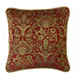Clarence Burgundy Cushion Cover 40x40cm (16 inch)