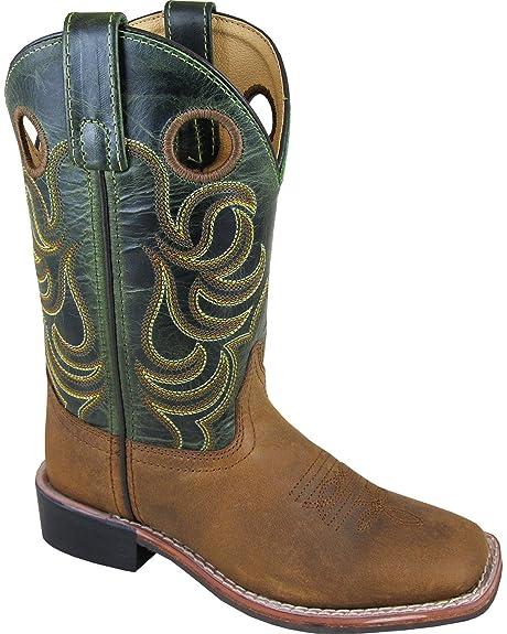 d81e3979770 Smoky Mountain Boys Jesse Square Toe Western Cowboy Boot, Brown ...