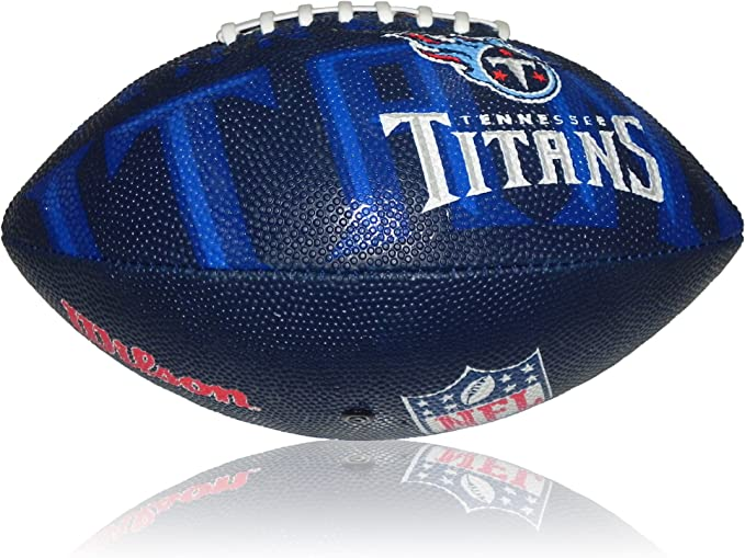 Wilson Football NFL Junior Tennessee Titans Logo - Balón de fútbol ...