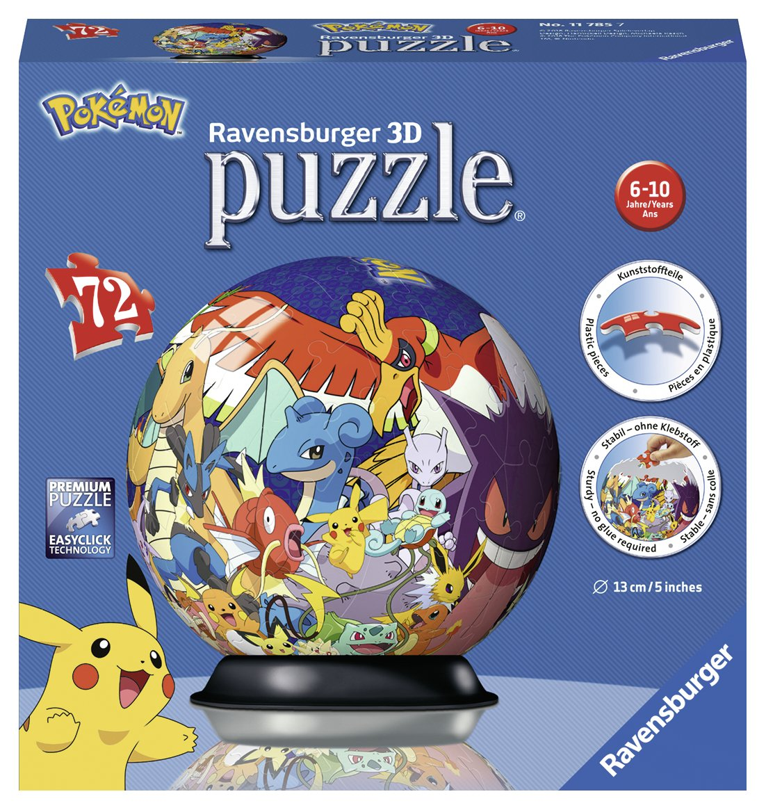 Puzzle 3D Pokemon