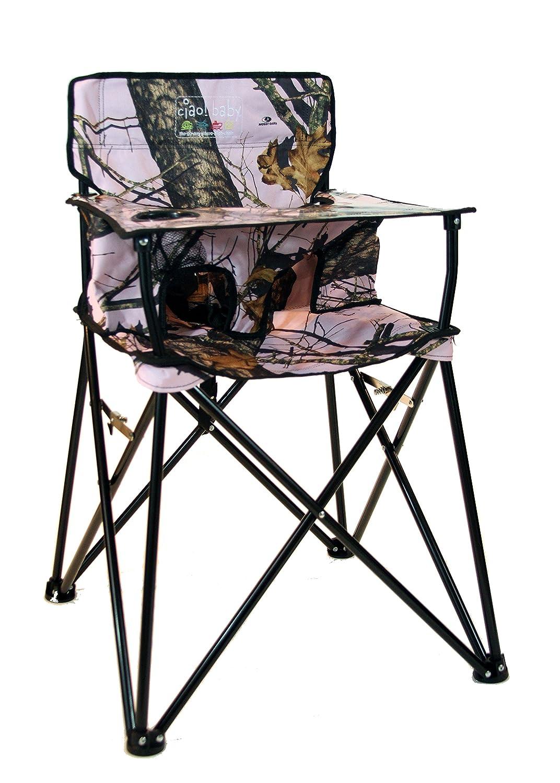 Ciao Baby Portable High Chair Pink Camo Ebay