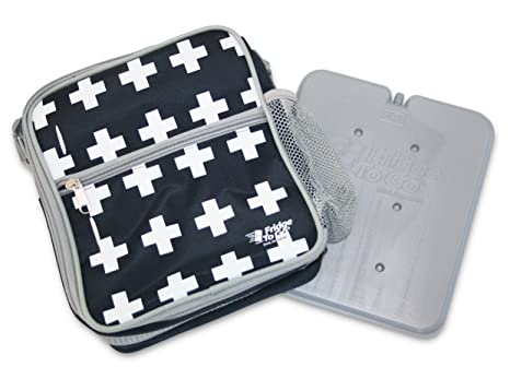 bbd72420939 Amazon.com  Fridge-to-go INSULATED LUNCH BAG - Cooler Bag With ...
