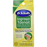 Dr.Scholls Ingrown Toenail Pain Reliever Gel - 0 3 Oz with 12 Cushions & 12 Bandages