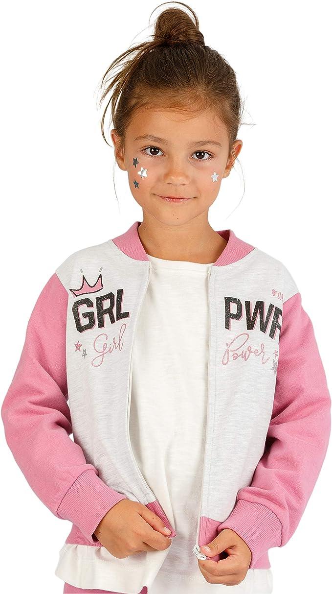 Top Top Girl's ralman Hoodie, Pink (Rosa 480), 152 (Size: 11-12),Top Top,76657