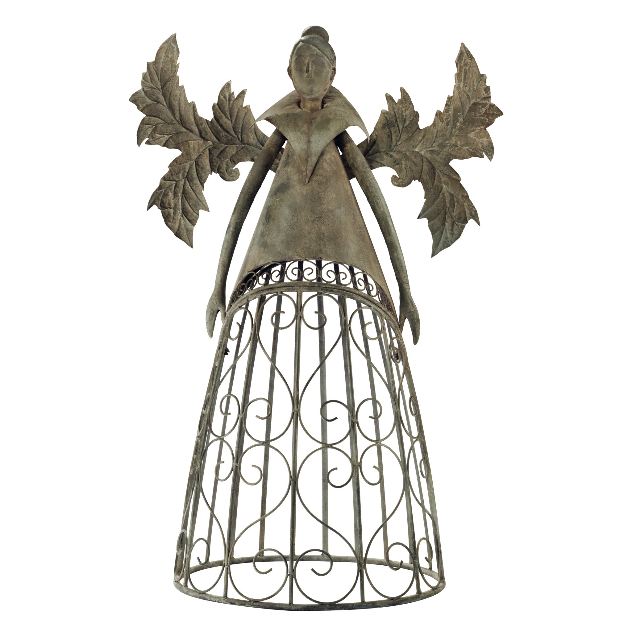 Design Toscano Tempest The Metal Garden Trellis Fairy