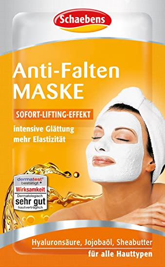 Schaebens Anti Falten Maske 15er Pack 15 X 10 Ml Amazonde Beauty