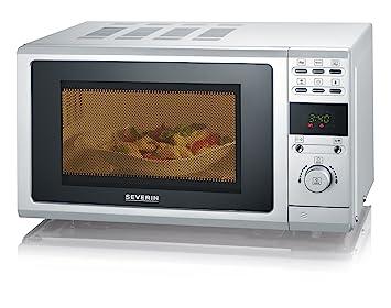 Severin MW 7854 - Microondas con grill, color plata