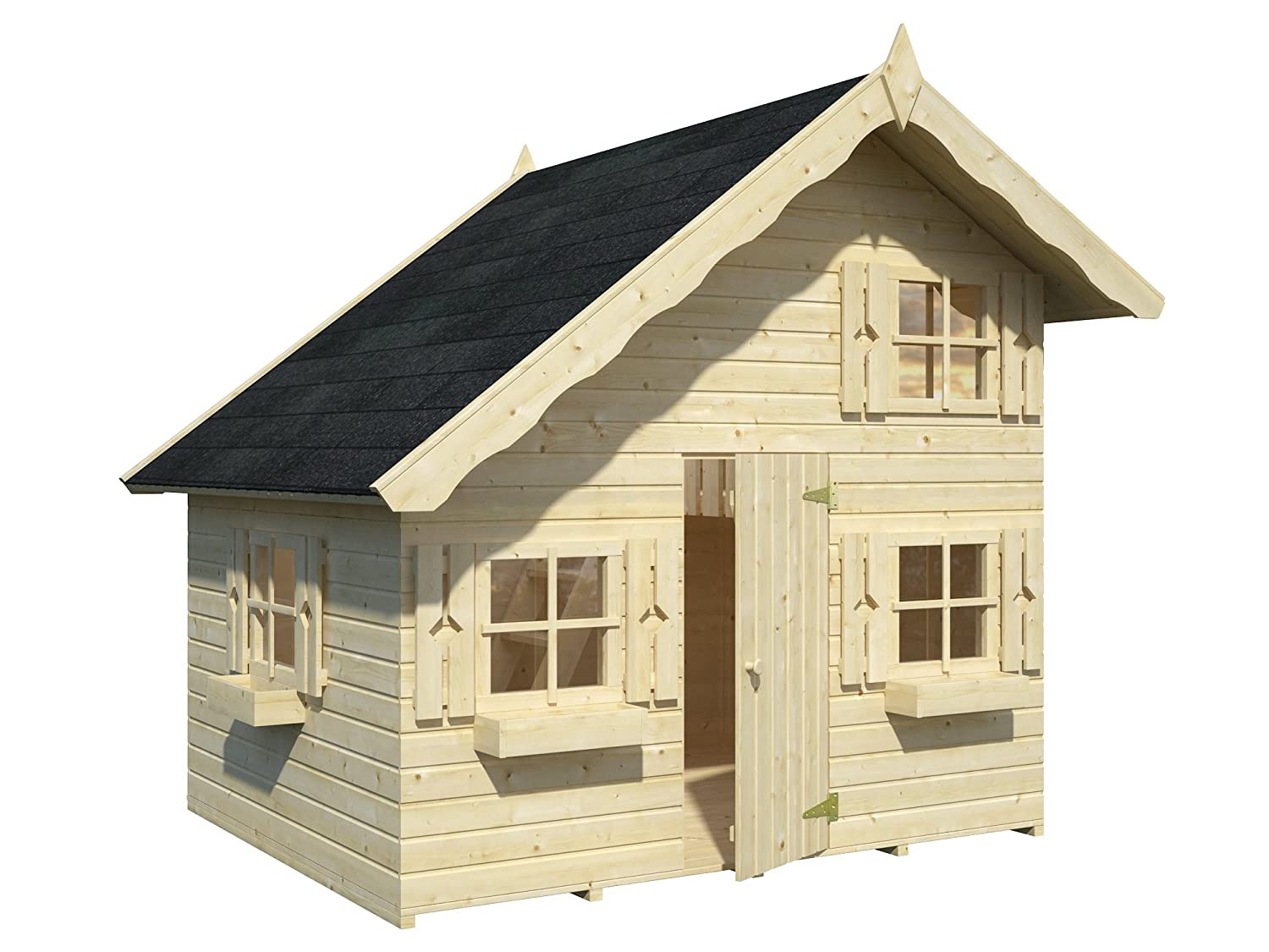 Palmako Kinderspielhaus Tom 3,8 16 mm natur