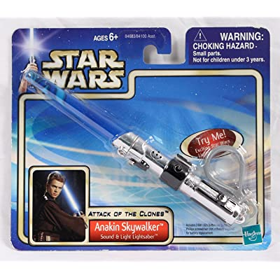 Anakin Skywalker Lightsaber Keychain: Toys & Games