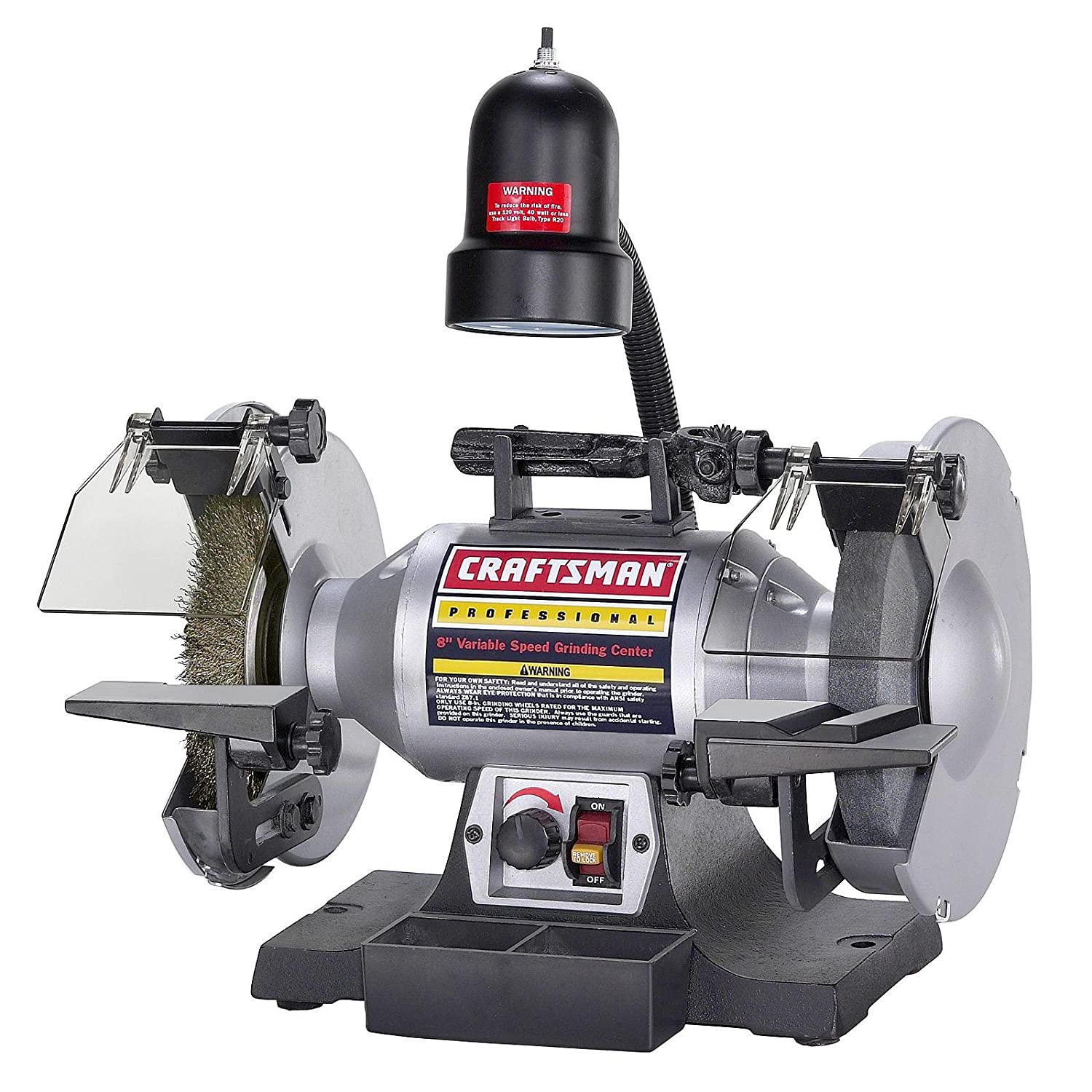 "Craftsman Professional Variable Speed 8"" Bench Grinder (21162) - -  Amazon.com"