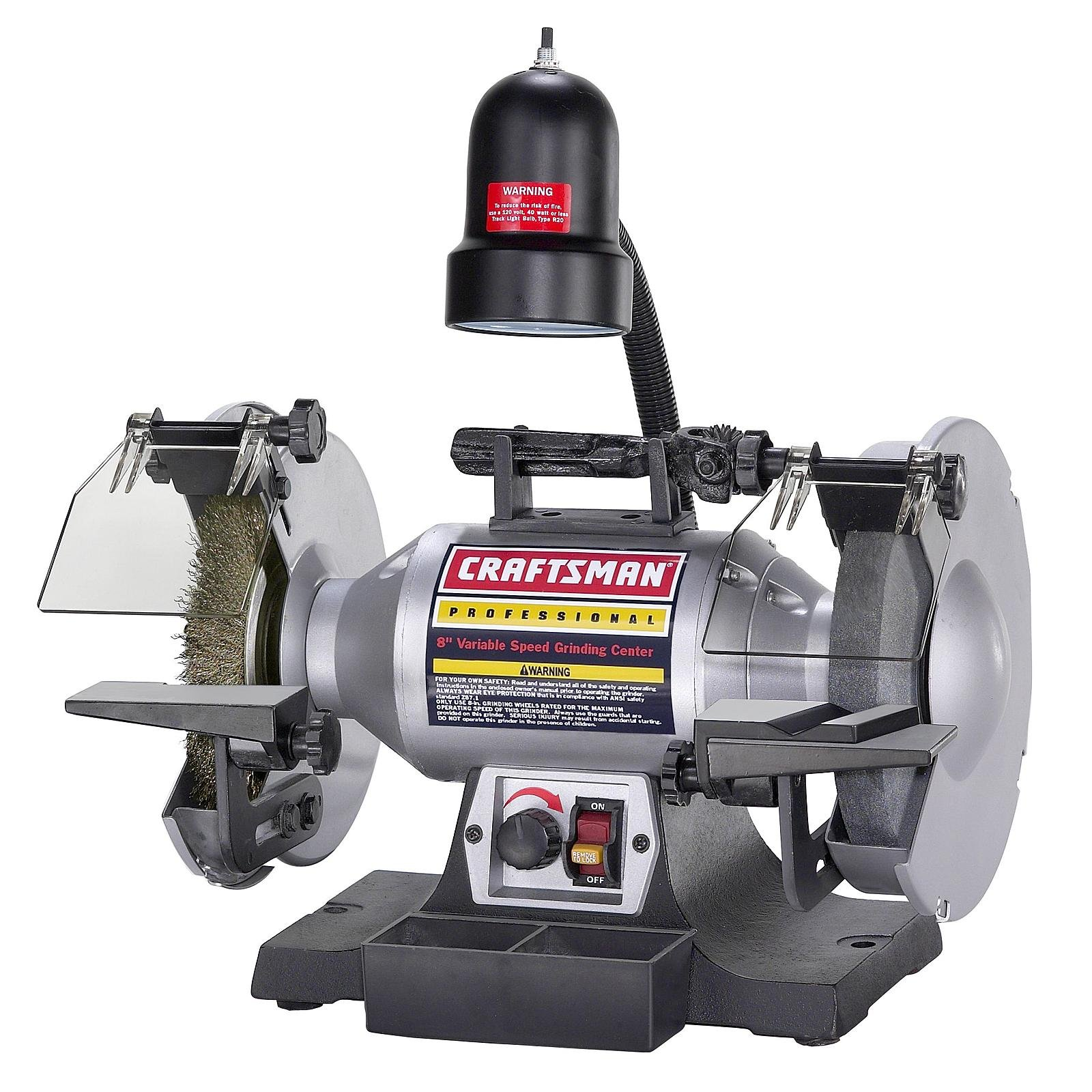 Craftsman Professional Variable Speed 8'' Bench Grinder (21162)
