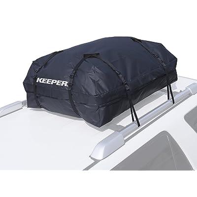 KEEPER 07204 Black Premium Waterproof Cargo Bag (15 Cubic Feet): Automotive