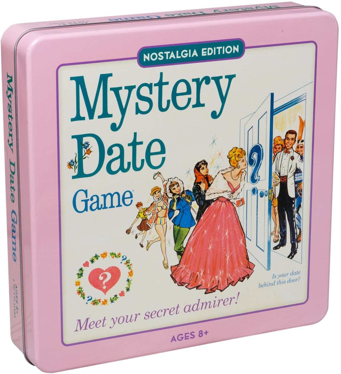 Mystery Date Classic Board Game With Nostalgic Tin Case by Winning Solutions: Amazon.es: Juguetes y juegos