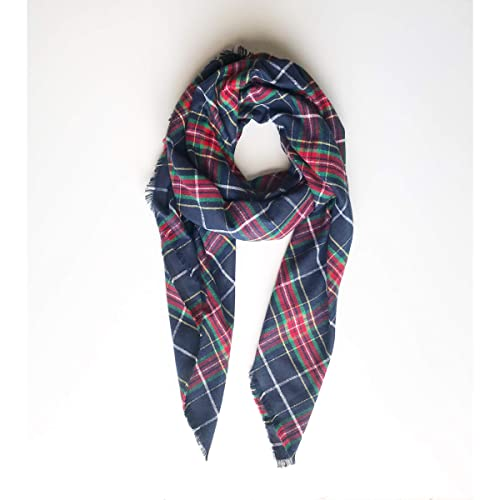 55c42f33dc379 Plaid Blanket Scarf For Woman Winter Accessory Christmas Gift Daughter:  Amazon.ca: Handmade