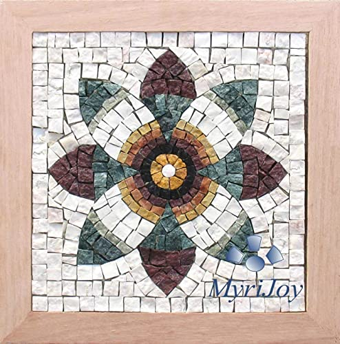 Amazon.com: Mosaics kit DIY : Pomegranate Flower/Original gift idea ...