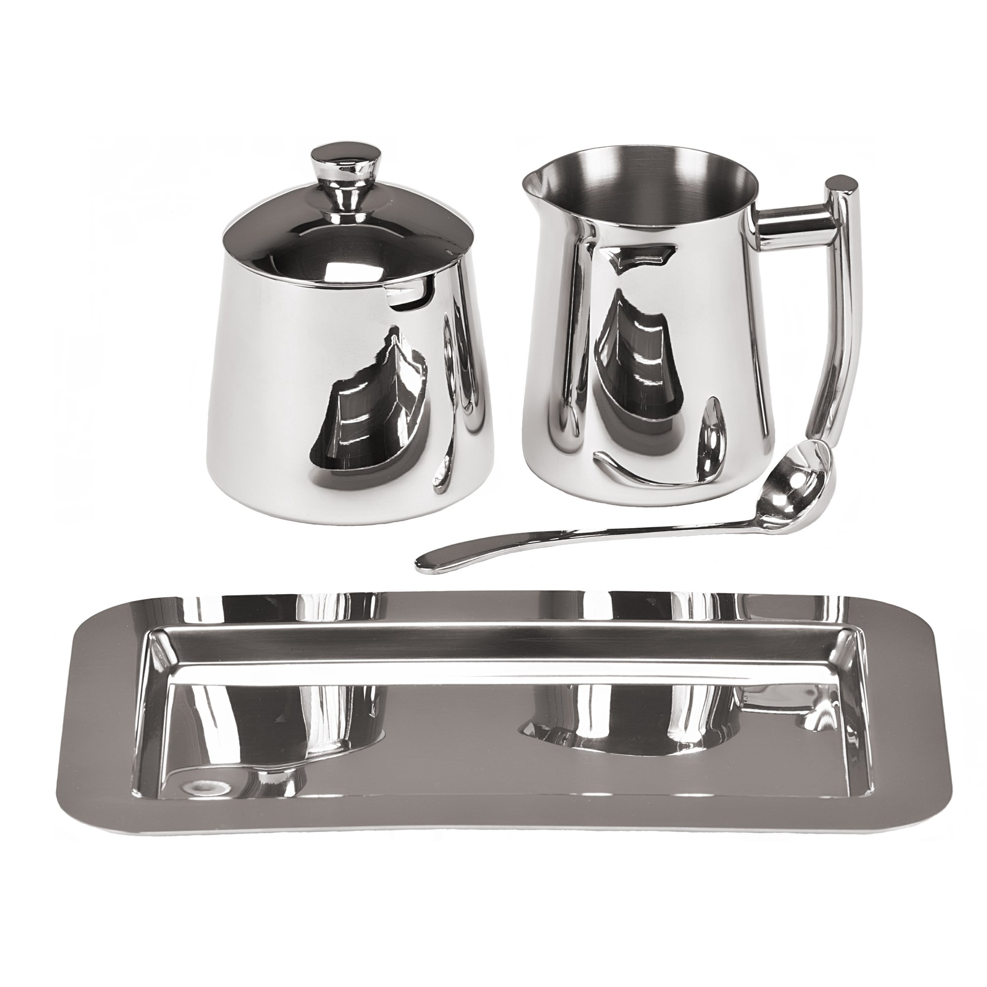 Frieling USA 18/10 Stainless Steel Creamer and Sugar Bowl Set by Frieling