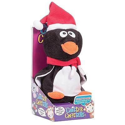 Tobar Noël Pingouin Chitter Chatter en peluche