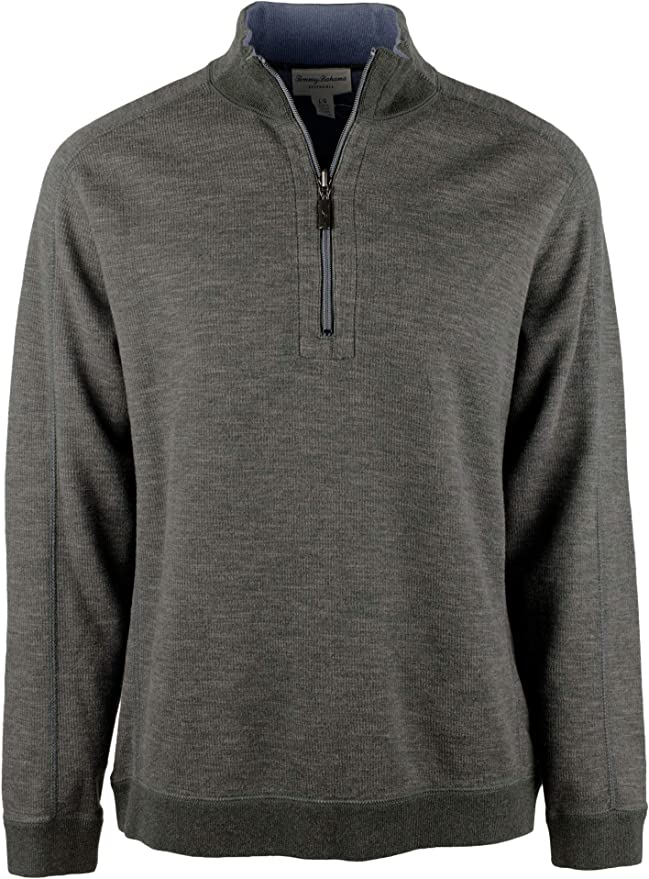 Tommy Bahama Reversible Half Zip Long Sleeve Pullover Mens 2XB NEW $118.00