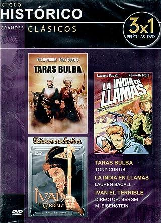 Taras Bulba / La India en llamas / Iván el terrible