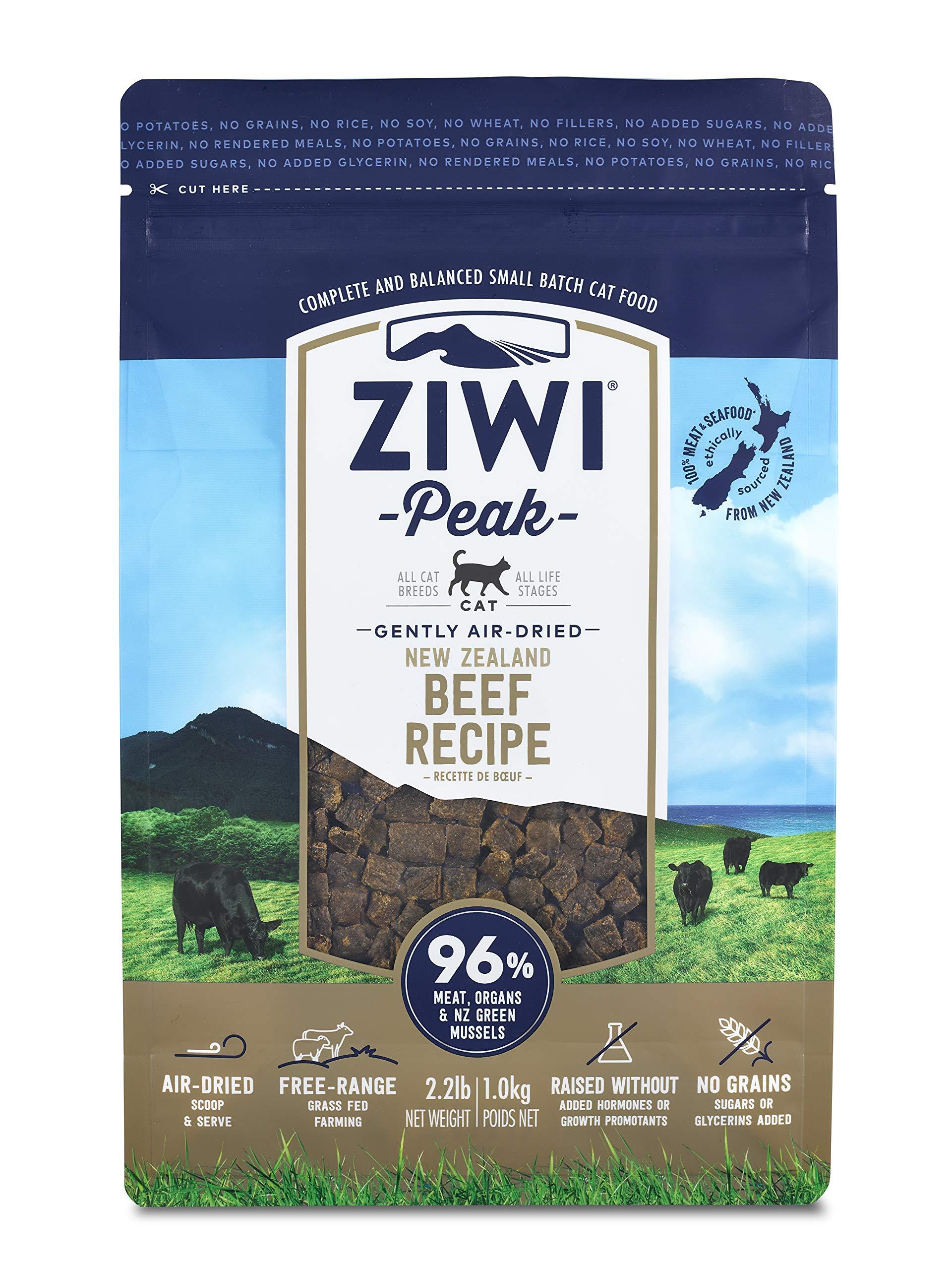 Ziwi Peak Air-Dried Beef Recipe Cat Food (2.2lb) by Ziwi Peak