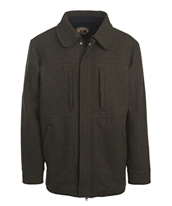 Woolrich Men's Wool Hunting Coat at Amazon Men's Clothing store: