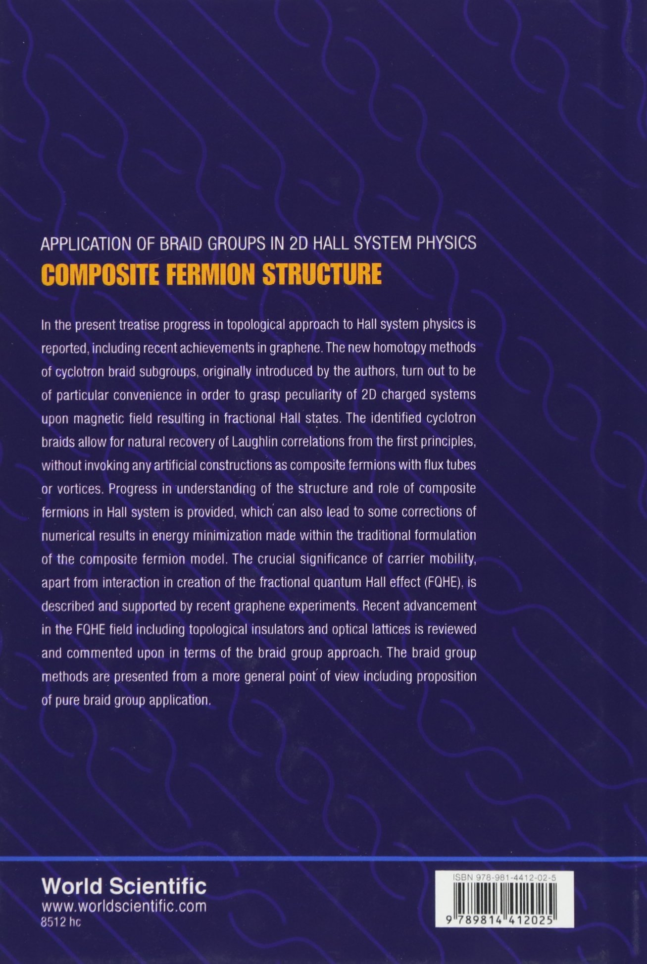 Application of Braid Groups in 2D Hall System Physics:Composite Fermion Structure