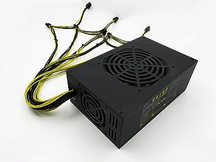 Amazon.com: Modern design 1600w computer power supply non modular ...