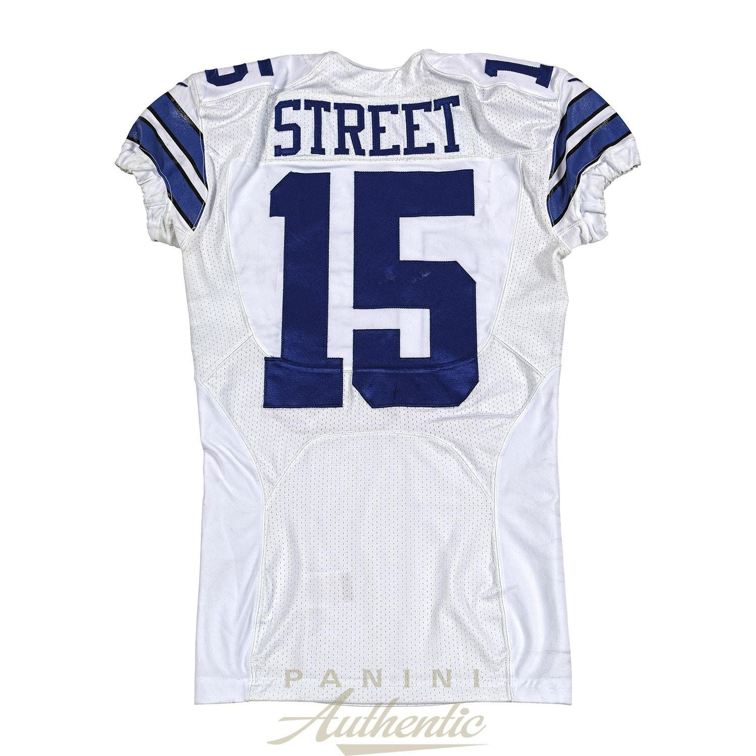 differently 93f14 9b657 Devin Street Game Worn Dallas Cowboys Jersey From 11/23/2014 ...