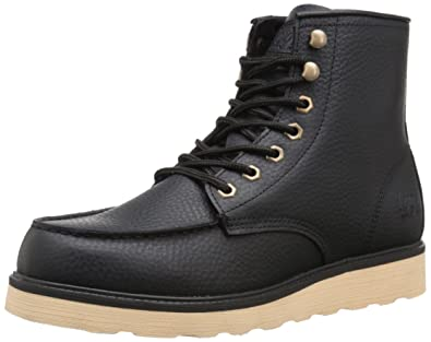 Lugz Men's Prospect Boot, Black/Cream, ...