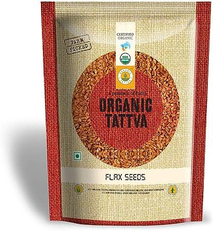 Organic Tattva Flax Seeds, 200g