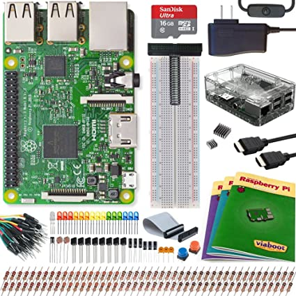 8b95f7eb3d2 Image Unavailable. Image not available for. Color: Viaboot Raspberry Pi 3  Ultimate Kit — Official ...
