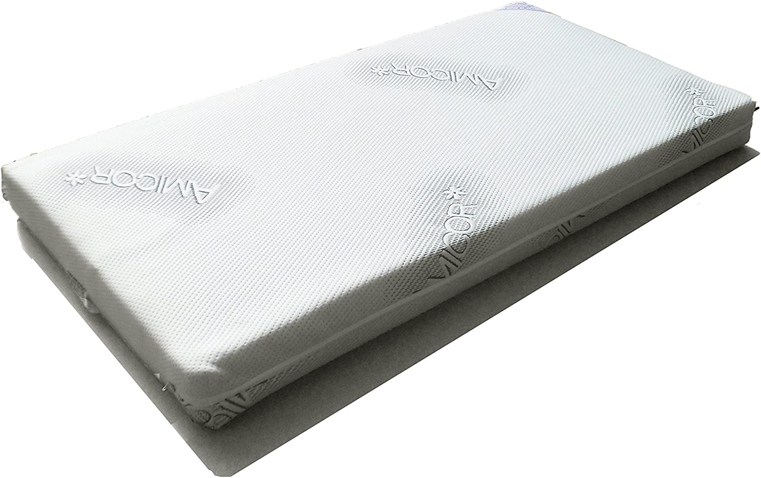 Katy/® Superior Quilted Amicor Luxury Sprung Hypo-allergenic Mattress 132 x 70 x 10cm Thick Will Fit All The New Boori Range Cot Beds Manufactured from FEB 2015