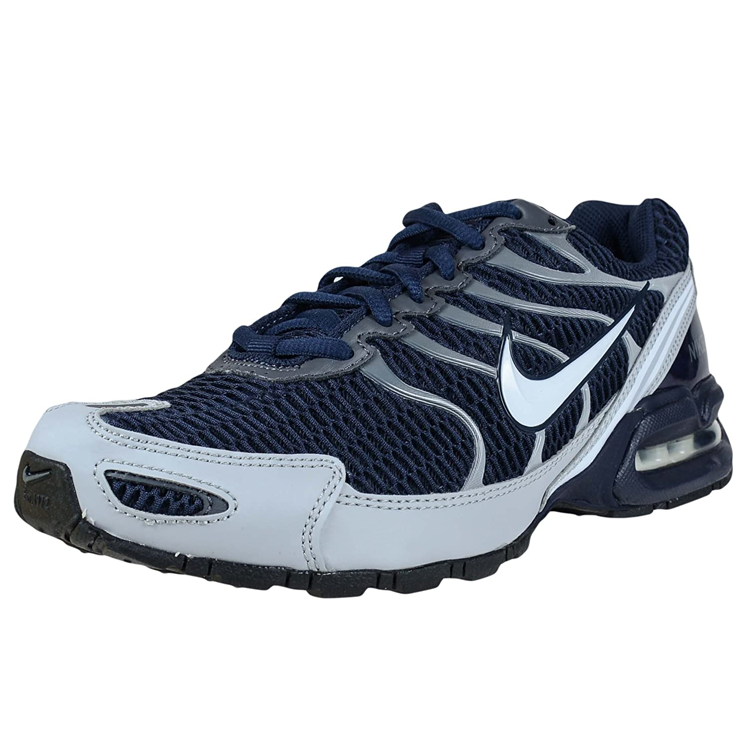 pretty nice 8a234 085a9 Amazon.com  Nike Mens Air Max Torch 4, Obsidian   White - Wolf Grey, 8.5 M  US  Sports   Outdoors